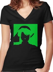 Courage Women's Fitted V-Neck T-Shirt