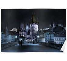Tryst on Charles Bridge Poster