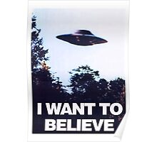 X FILES - I want to believe Poster