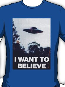 X FILES - I want to believe T-Shirt