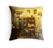 Dishes and more dishes Throw Pillow