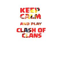 Clash of clans_v9 Photographic Print