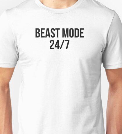 BEAST MODE 24/7 Unisex T-Shirt