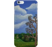 Eucalyptus and Thistles iPhone Case/Skin