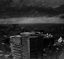 """A Triptych Of Sand Storms And City Scapes Part Two"" by Kirrill D'Kainn"