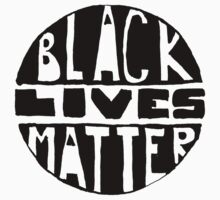 Black Lives Matter - Filled Kids Tee