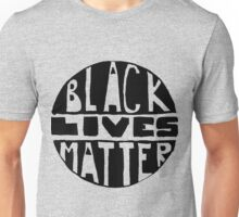 Black Lives Matter - Filled Unisex T-Shirt