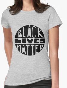 Black Lives Matter - Filled Womens Fitted T-Shirt
