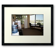 Breakroom Framed Print