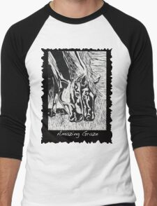 Amazing Graze Men's Baseball ¾ T-Shirt