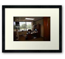 Ivan Sr Office Framed Print