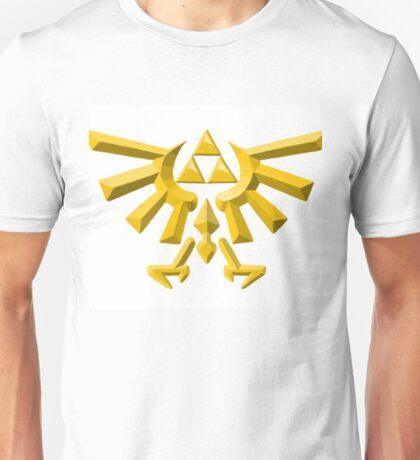 Zelda Triforce Gold Unisex T-Shirt