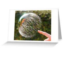 Bubble Rip, Storm Wave Greeting Card