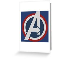 Avengers - Captain America Greeting Card