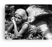 Angel In The Garden ~ Part Four Canvas Print