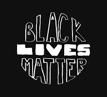 Black Lives Matter - Black Background Unisex T-Shirt