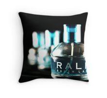 Ralph Bottles Throw Pillow