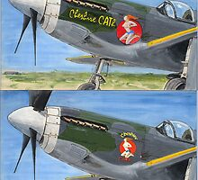 P51 Cheshire CATh noseart by Woodie