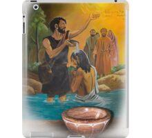 Baptismal Font In San Fernando - Ecuador II iPad Case/Skin