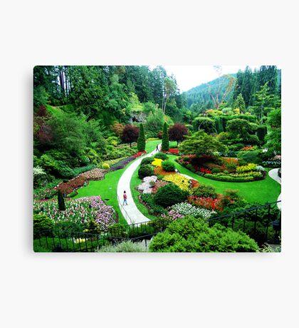 Butchart's Gardens Canvas Print
