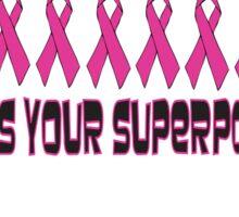 Pink Superpowers! Sticker