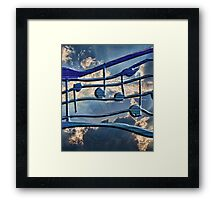 Blue Notes Framed Print