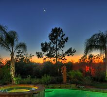Backyard Oasis-Pearland, TX by Michael  Slevens