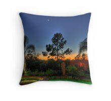 Backyard Oasis-Pearland, TX Throw Pillow