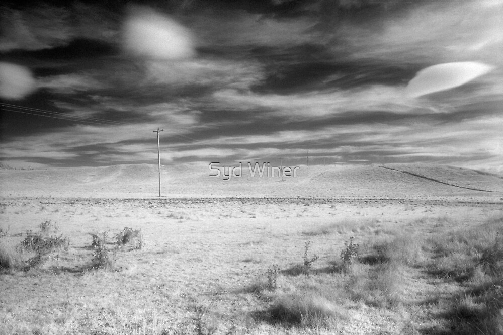 Rural infrared - Barry Way, Snowy Mountains by Syd Winer