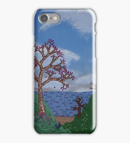 Seaside Blossoms  iPhone Case/Skin