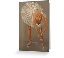 Ballet dancer, swan lake Greeting Card
