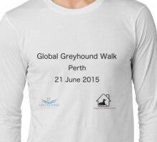 Global Greyhound Walk, Perth Long Sleeve T-Shirt