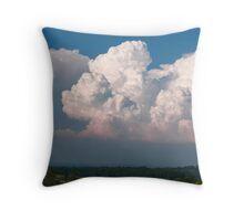 Towering giants Throw Pillow