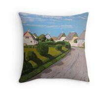 Fanoe Island, Denmark Throw Pillow
