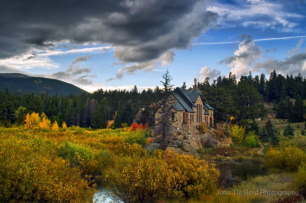 A Heavenly Autumn by John  De Bord Photography