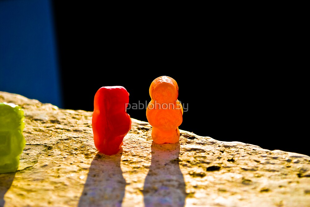 Suicidal Jelly Baby by pablohon3y