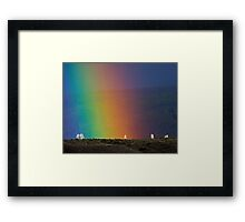 Rainbow Air, Ghost Trees Framed Print