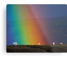 Rainbow Air, Ghost Trees Metal Print