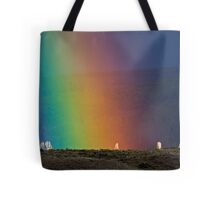 Rainbow Air, Ghost Trees Tote Bag