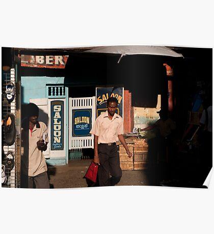 Liberty Saloon, Kandy Poster