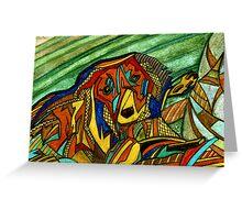 138 - MAJOR - DAVE EDWARDS - WATERCOLOUR & COLOURED PENCILS - 2005 Greeting Card