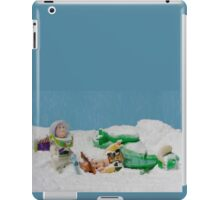 I thought they smelled bad on the outside! iPad Case/Skin