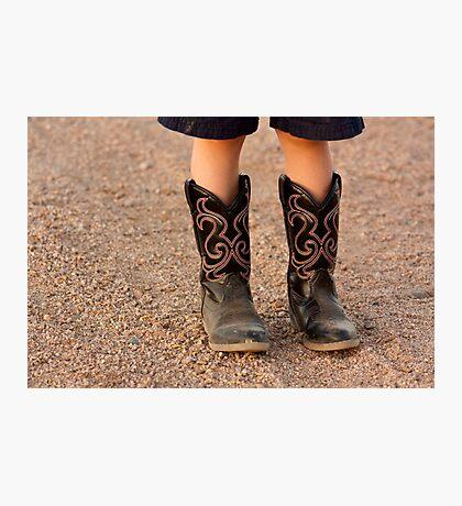 Child's Boots Photographic Print