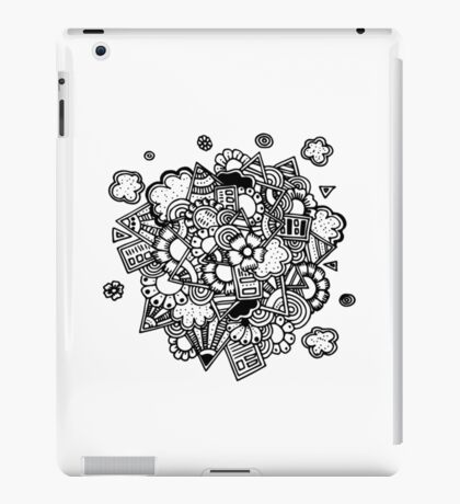 Cartoon Fluff iPad Case/Skin