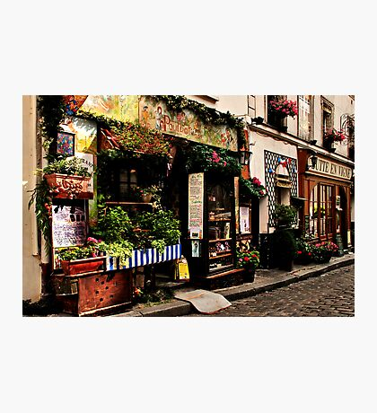 Parisian Street Photographic Print