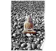 Buddha and Pebbles - Scotland - 2 Poster