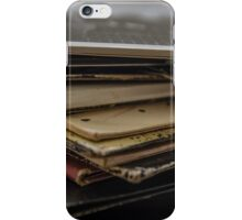 Stack of Records iPhone Case/Skin