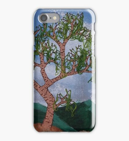 Hanging leaves iPhone Case/Skin