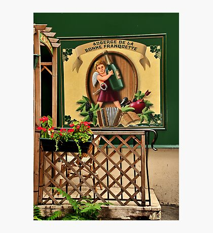 Parisian Restaurant Photographic Print