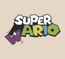Wario Vs Super Mario by MariaDiaz